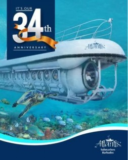 Atlantis Submarines Barbados Celebrates 34 Years
