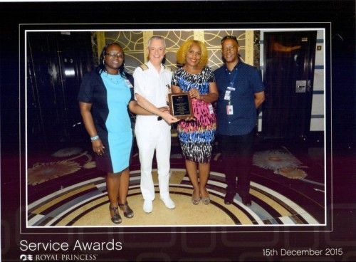 Princess Cruises Award