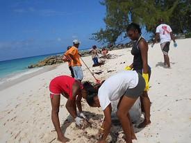 Barbados Clean Up