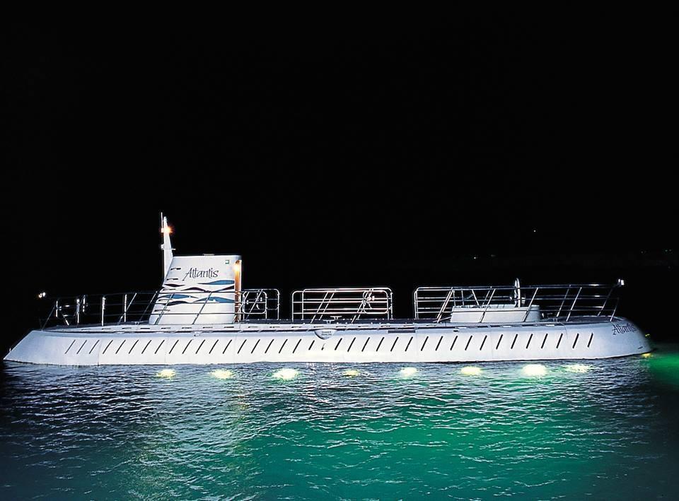 Submarine Night Dive Tour in Barbados - Atlantis Submarines Barbados